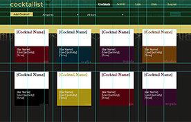 cocktailist Redesign: Vue, Rails 5 (2020 WIP)
